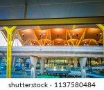 barajas  madrid  spain  07 19... | Shutterstock . vector #1137580484