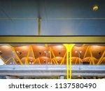 barajas  madrid  spain  07 19... | Shutterstock . vector #1137580490