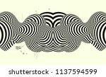 black and yellow design.... | Shutterstock .eps vector #1137594599