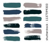 paint line grunge backgrounds.... | Shutterstock .eps vector #1137599303