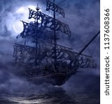 Sailing Pirate Ghost Ship ...