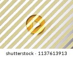 yellow glass play icon on the...