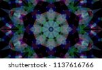 geometric design  mosaic of a... | Shutterstock .eps vector #1137616766