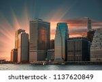 modern architecture of...   Shutterstock . vector #1137620849