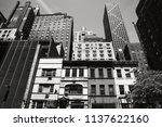 new york  usa   jun 01  2014 ... | Shutterstock . vector #1137622160