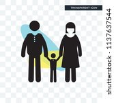 family group vector icon... | Shutterstock .eps vector #1137637544