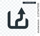 up arrow vector icon isolated...
