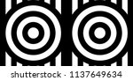 seamless pattern with circles... | Shutterstock .eps vector #1137649634