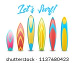 set of different types of... | Shutterstock .eps vector #1137680423