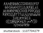 handwritten awkward and... | Shutterstock .eps vector #1137704279