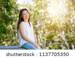 portrait of an attractive young ... | Shutterstock . vector #1137705350