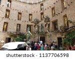 figueres  spain  june 28  ... | Shutterstock . vector #1137706598