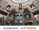 figueres  spain  june 28  ... | Shutterstock . vector #1137706628