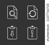 ui ux chalk icons set. find in...