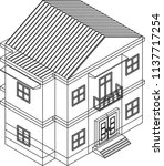 building and house vector | Shutterstock .eps vector #1137717254