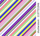 retro bright colorful seamless... | Shutterstock . vector #1137721346