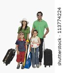 parents with their children... | Shutterstock . vector #113774224