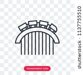 roller coaster vector icon... | Shutterstock .eps vector #1137755510