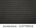 uniform corrugated texture of... | Shutterstock . vector #1137758918