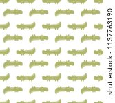 cute seamless vector pattern... | Shutterstock .eps vector #1137763190