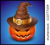 pumpkin jack | Shutterstock .eps vector #113777359