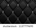 Black Leather With White Stich...