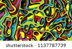abstract colorful background. ...   Shutterstock . vector #1137787739