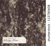 seamlessly tiling vintage...   Shutterstock .eps vector #113780608