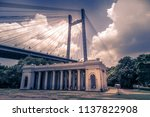 the vidyasagar setu or  second... | Shutterstock . vector #1137822908