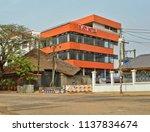 joy hotel in accra. beautiful... | Shutterstock . vector #1137834674