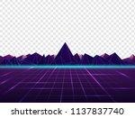 vector image of old  retro ... | Shutterstock .eps vector #1137837740