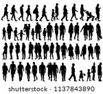 vector  isolated  set of... | Shutterstock .eps vector #1137843890