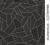 vector seamless dark pattern... | Shutterstock .eps vector #113784988