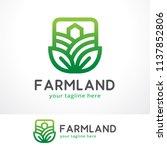 Farm Logo Template Design, Symbol, Icon