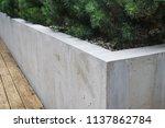 modern details of architecture. ... | Shutterstock . vector #1137862784