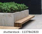 modern details of architecture. ... | Shutterstock . vector #1137862820