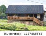 farm architecture in village... | Shutterstock . vector #1137865568