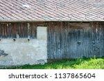 farm architecture in village... | Shutterstock . vector #1137865604