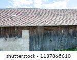 farm architecture in village... | Shutterstock . vector #1137865610