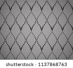 the geometric pattern with wavy ... | Shutterstock .eps vector #1137868763