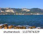 seaport of novorossiysk   Shutterstock . vector #1137876329