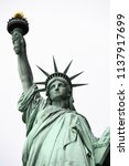 the statue of liberty | Shutterstock . vector #1137917699