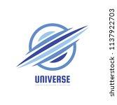 universe   concept business... | Shutterstock .eps vector #1137922703
