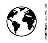 world map vector. world icon....   Shutterstock .eps vector #1137928736