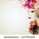 resumen,abstracción,artística,ilustración,fondo,hermosa,belleza,en blanco,mancha blanca /negra,concepto,cosmética,portada,crack,creativa,decoración