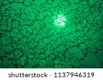 Broken Glass Green Color...