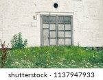 part of a brick wall with a... | Shutterstock . vector #1137947933