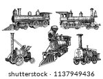 Graphical Set Of Locomotives...
