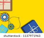 concept of raksha bandhan ... | Shutterstock .eps vector #1137971963