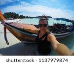 travel summer holiday concept... | Shutterstock . vector #1137979874